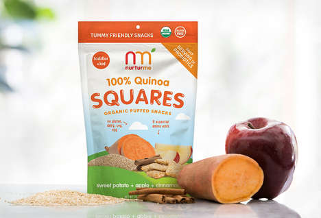 Free-From Quinoa Snacks