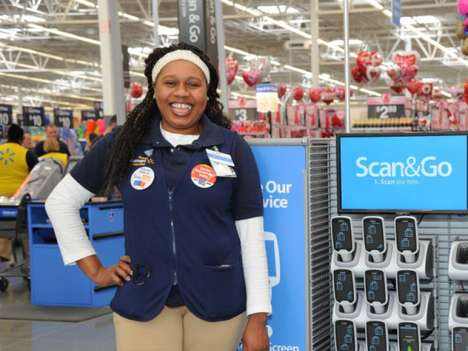 Self-Serve Shopping Apps - Walmart's 'Scan & Go' Helps Consumers Skip the Checkout Line