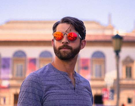Screw-Free Spring Hinge Sunglasses