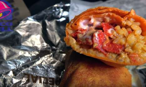 Explosive Candy-Filled Burritos