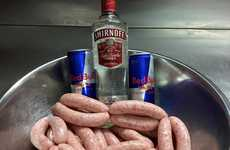 Energy Drink-Infused Sausages