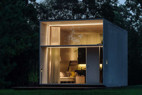 Moveable Prefab Dwellings - The Koda Moveable Home Can be Shifted to a New Location