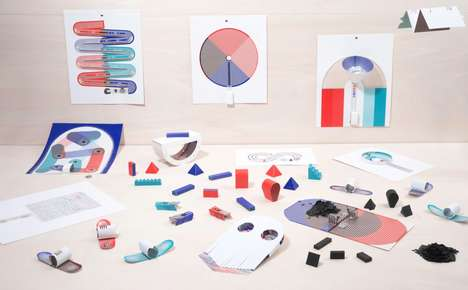 Paper Component Toys - The 'Papier Machine' Printed Circuits are Compiled in a Book