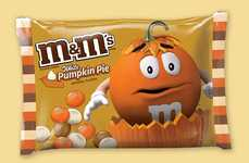 Pumpkin Pie-Flavored Candy - Mars, Inc.'s New White Pumpkin Pie M&Ms are Now Available In Stores