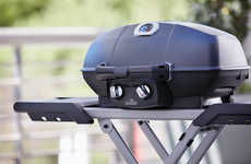 Full-Featured Portable BBQs - The Napoleon TravelQ PRO285X Barbecue is Suitable for Use Anywhere