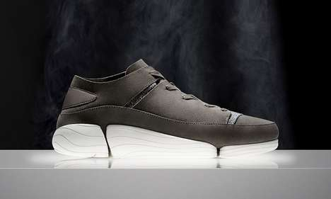 Hybrid Sectioned Sole Sneakers