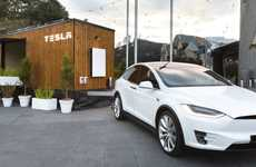 Mini Car Brand Homes - The Tesla Tiny House Can be Towed by the Brand's Vehicles