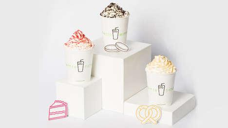 Mature Dessert Flavor Milkshakes