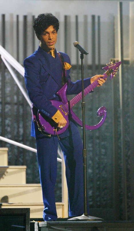 Musician-Dedicated Color Hues - Love Symbol #2 is an Official Shade of Purple Dedicated to Prince