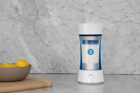 On-Demand Yogurt Makers - 'Yomee' is Smaller Than a Blender and Makes Fresh Yogurt Overnight