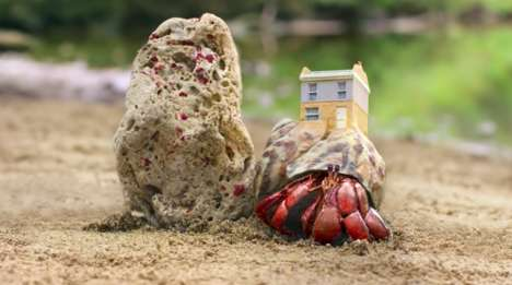 3D-Printed Crab Houses