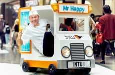Humorously Small Treat Trucks - The World's Smallest Ice Cream Truck is Handing Out Free Cones