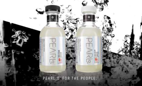 Cannabis-Infused Waters - 'Pearl2o Creative Water' is a Liquid Edible with No Distinct Flavor