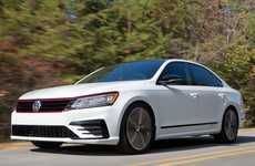 Performance-Focused Sedan Redesigns - The Volkswagen Passat GT is Sporty and Practical