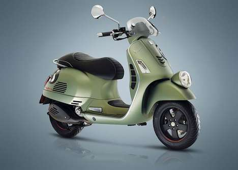 Re-Imagined Classic Scooters - 'Sei Giorni' is a Modern Variant of Vespa's Award-winning Design