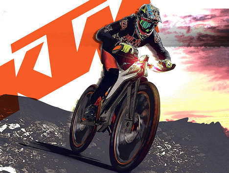 Comfort-Focused Racing Bikes - This KTM Rugged Bike Ensures the Racers Stays Agile and Comfy
