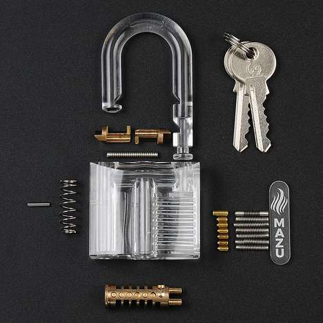 Educational Lock Picking Padlocks