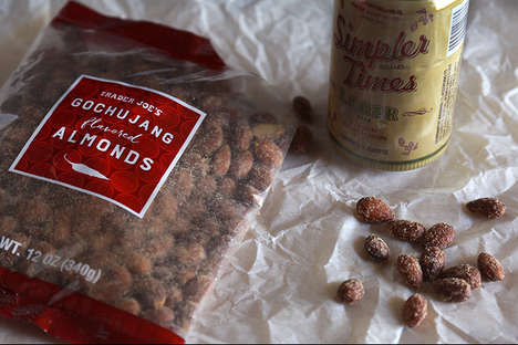 Korean-Style Spiced Almonds - Trader Joe's Flavored Nuts Mimic the Taste of Gochujang