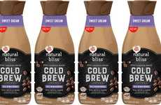 Creamer Brand Cold Coffees - The Coffee-Mate Natural Bliss Sweet Cream Cold Brew Coffee is Flavorful
