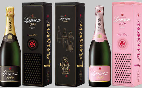 Smartphone Speaker Champagne Packaging