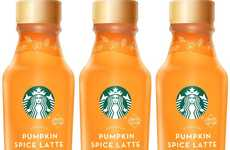 Bottled Seasonal Latte Beverages - The Starbucks Iced Pumpkin Spice Latte is Limited Edition