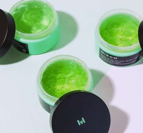 Revitalizing Lime Face Masks