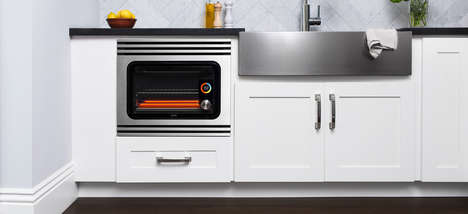 Built-In Smart Ovens - The June Oven Pro is a Built-In Version of the Intelligent Convection Oven