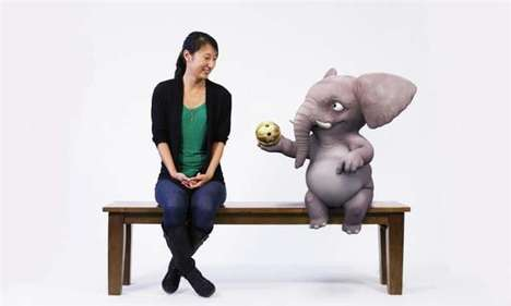 Mixed-Reality Benches - Disney's 'Magic Bench' Offers a New Way to Interact with 3D Characters