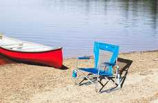 Portable Outdoor Rocking Chairs - The GCI Waterside Beach Rocker Chair Relaxes You When Shoreside