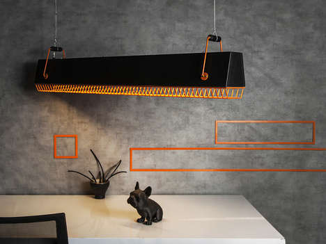 Customizable Hanging Ceiling Lights - The Studio Beam D-light Quattro Has an Industrial Vibe