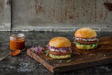 Insect-Based Burgers - Coop's Essento Insect Burgers Feature a Nutritional Mealworm Base