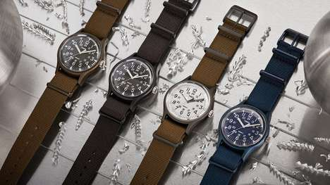Relaunched Military Timepieces - The Timex MK1 Aluminum Watches are Ready for Daily Use