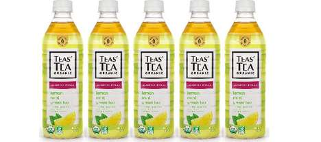 Alternative Bottled Tea Drinks - The ITO EN Slightly Sweet Lemon Mint Green Tea is Fresh and Light