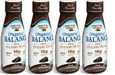 Low-Fat Organic Protein Milks - The Organic Valley Organic Balance Milk Protein Shake is Flavorful