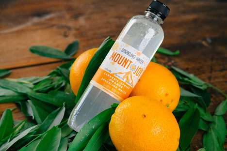 Cannabis-Infused Sparkling Waters - The Mountjoy Sparkling Water is Infused with Cannabis Oil
