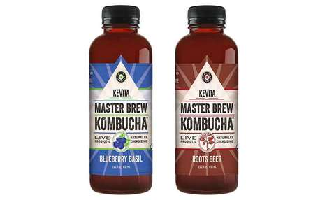 Complex Flavor Profile Kombuchas - The New KeVita Master Brew Kombucha Line Flavors are Energizing