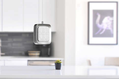 Ceiling-Suspended Air Purifiers - The Ceili.Air Serves as a Sleek Alternative to Bulky Devices
