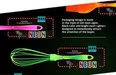Neon Kitchenware Utensils