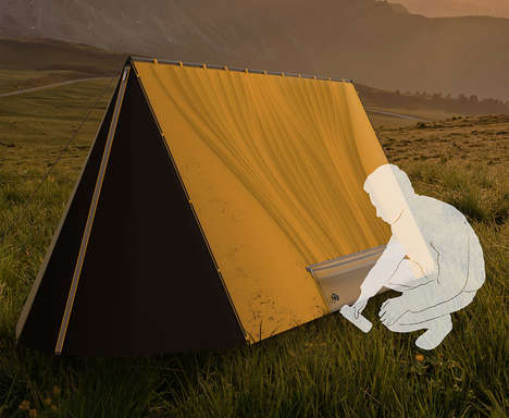 Water-Collecting Tent Designs