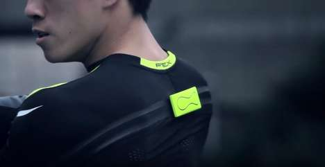 Performance-Tracking Athletic Shirts - DynaFeed Puts Wristworn Fitness-Tracking Directly In Clothing