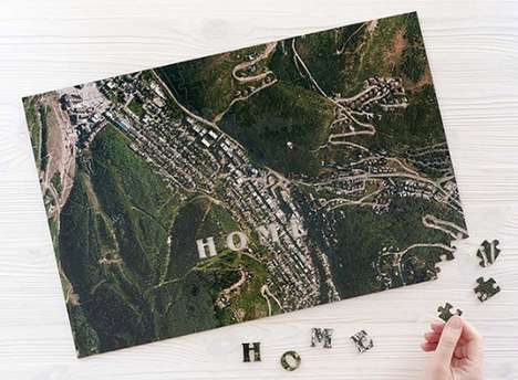 Personalized Satellite Image Puzzles
