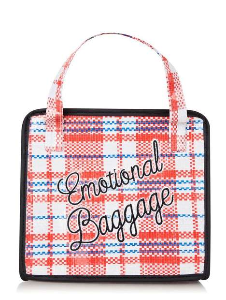 Skinnydip London's 'Emotional Baggage' Handbag is Supermarket-Inspired