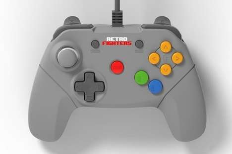 Updated Retro Game Controllers