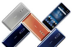 Dual-Recording Flagship Phones - The New Nokia 8 is the First Device to Record 'Bothies'