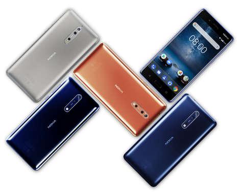 Dual-Recording Flagship Phones
