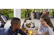 Interactive Robotic Tiger Toys