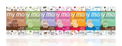 Bite-Sized Mochi Ice Creams - The My/Mo Mochi Ice Creams Come in Several Delicious Flavor Options