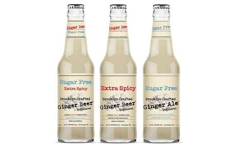 Fresh Artisanal Ginger Sodas - The Brooklyn Crafted Sodas are Spicy and Unfiltered