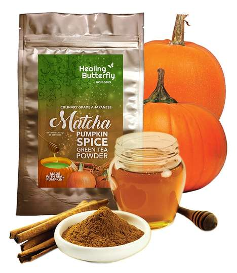 Spiced Pumpkin Matcha Powders