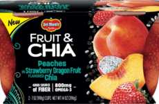 Omega-Rich Fruit Cups - Del Monte's Fruit & Chia Cups Offer Fiber and a Full Serving of Fruit